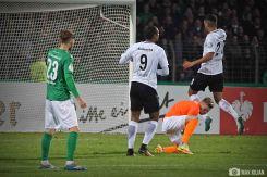 DFB-Pokal FC Schweinfurt 05 - Eintracht Frankfurt (92)
