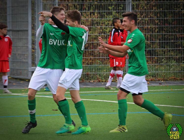 SSV Jahn Regensburg - FC Schweinfurt 05 U17 (11)