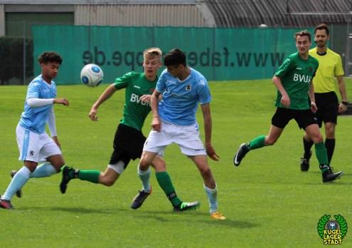 FC Schweinfurt 05 trotzt dem TSV 1860 München in der U17-Bayernliga ein 2-2 ab (13)