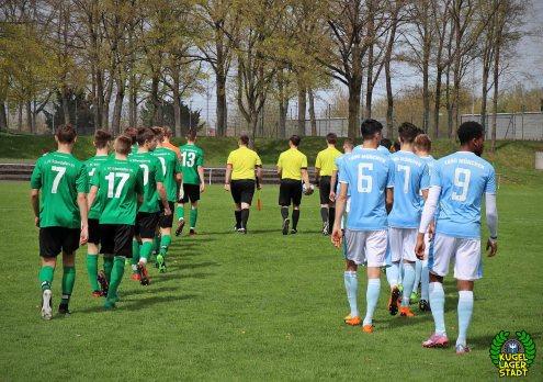 FC Schweinfurt 05 trotzt dem TSV 1860 München in der U17-Bayernliga ein 2-2 ab (2)