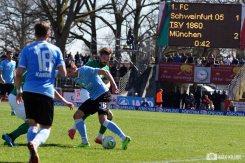 FC Schweinfurt 05 verliert 1-3 gegen den TSV 1860 München (264)