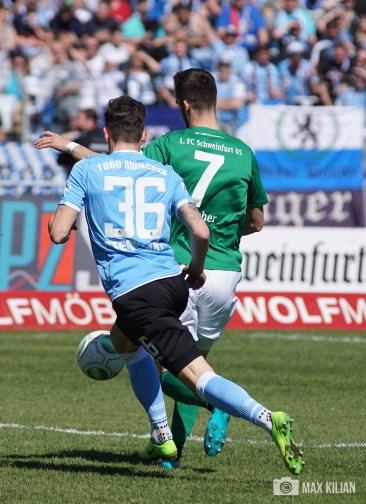 FC Schweinfurt 05 verliert 1-3 gegen den TSV 1860 München (291)