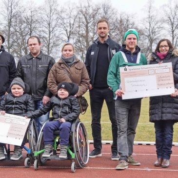 Spendenübergabe des Förderkreises Kugellagerstadt